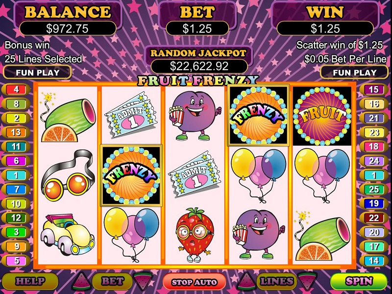 Spiele Bonus Frenzy - Video Slots Online